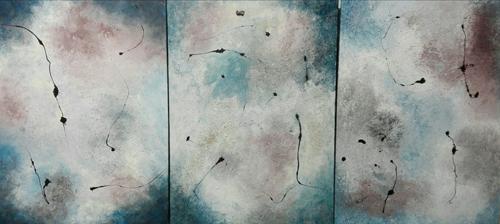 Paco López Francés-Tríptico Atmósfera -